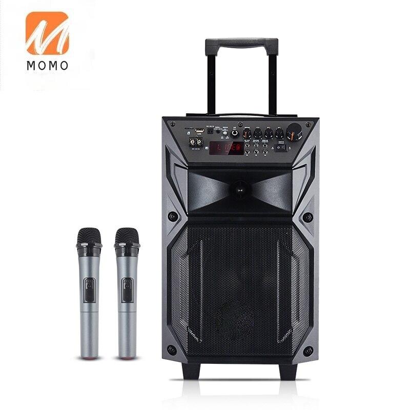 Altavoz de alta gama para karaoke, máquina de karaoke con manillar y...