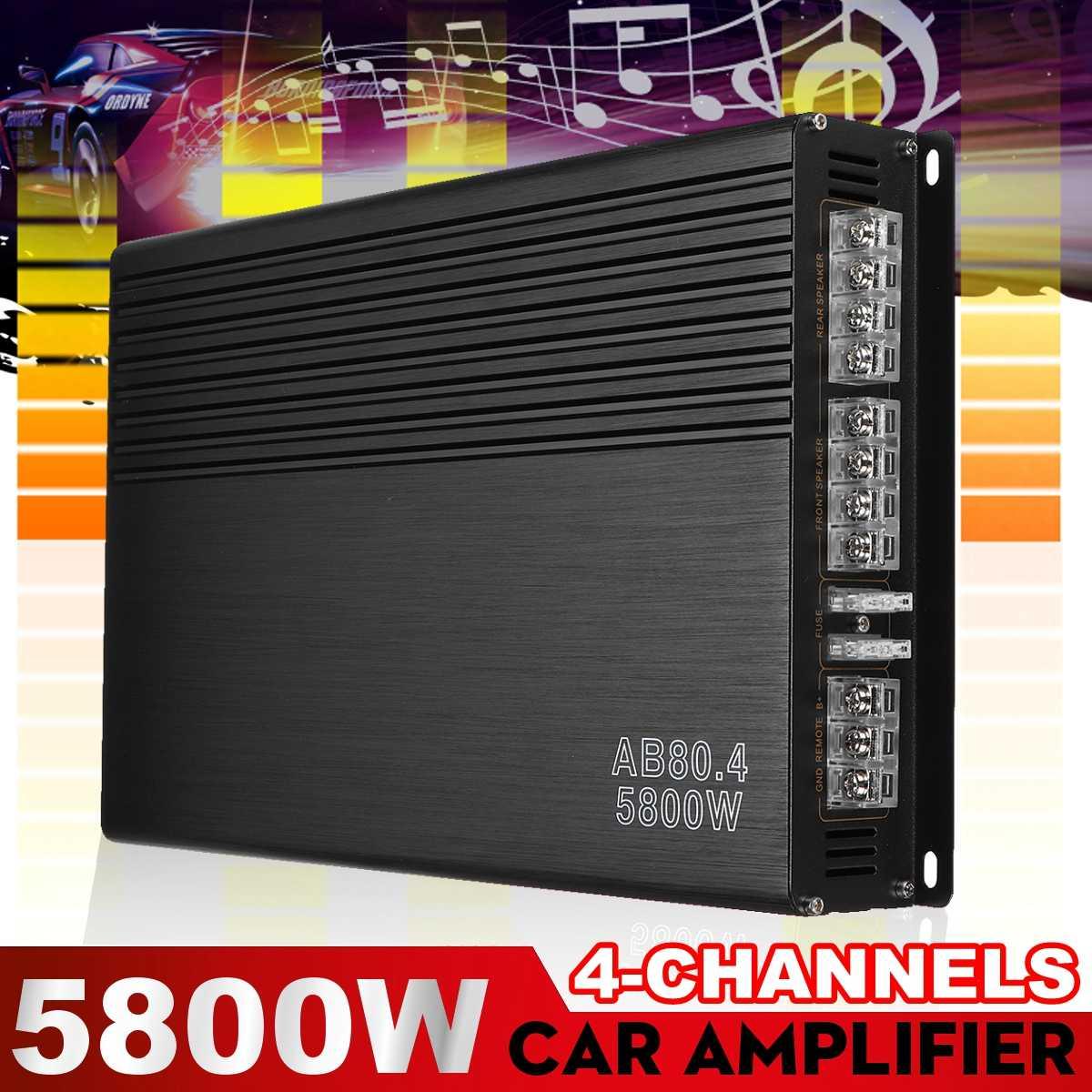 5800W Audio HiFi bluetooth 5,0 Power Verstärker Digital Amp Home Audio Auto