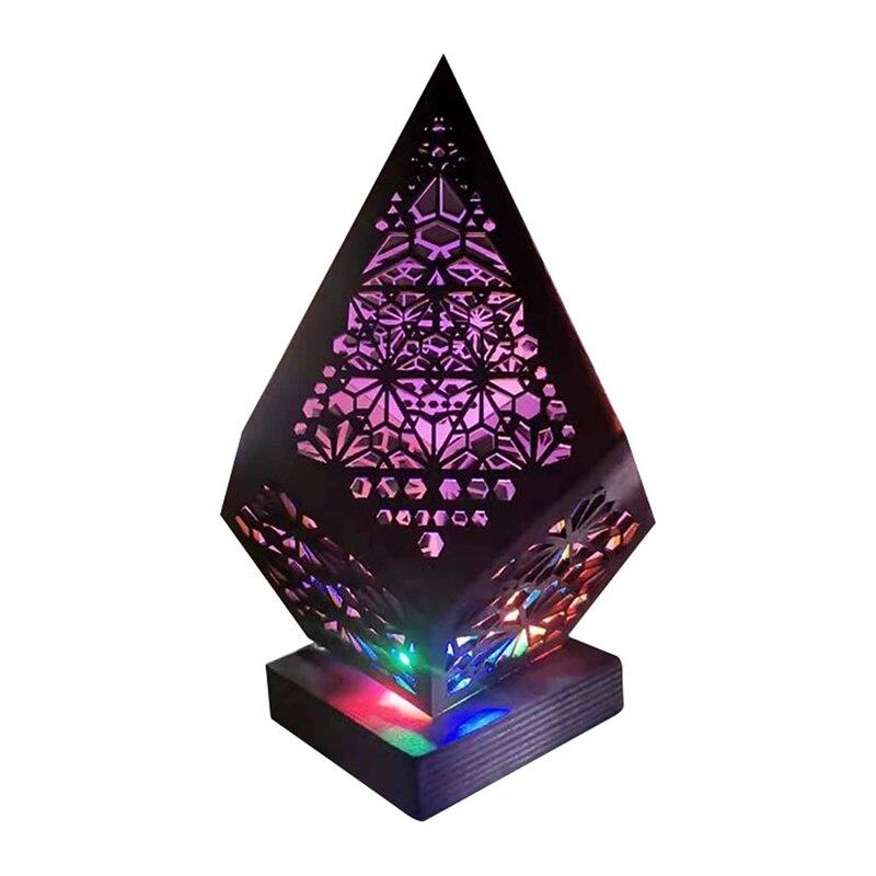 Напольная Лампа, богемный свет, Полярная Звезда, красочные алмазные богемные лампы, настольные лампы для спальни, декоративные
