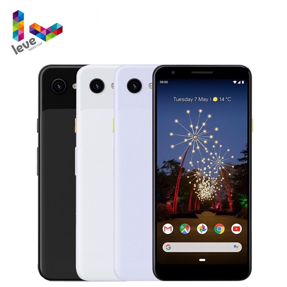 Разблокирована версия Google Pixel 3a & 3A XL мобильный телефон 5,6 дюйм & 6,0дюйм  4GB Оперативная память 64 Гб Встроенная память 12MP Octa Core 4 аппарат не привязан к опе...