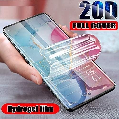 Protector de pantalla para Infinix S5 cubierta completa de la película de hidrogel suave HD película protectora