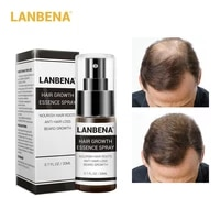 lanbena hair growth essence spray product preventing baldness consolidating anti hair loss nourish roots hair care 20ml