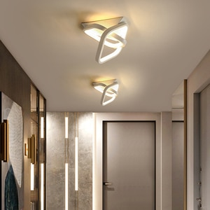 LED Panel Lamp Ceiling Light For Home Entrance Balcony Living Room Bedroom Indoor Lamps Lighting Luminaire Lustre Ceiling Lamp