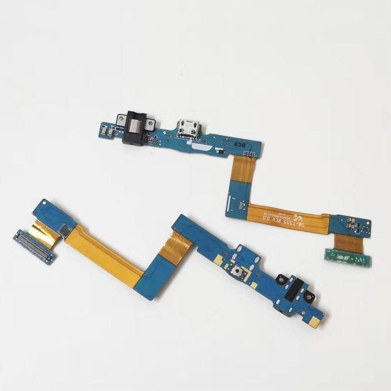 Cargador de muelle USB puerto de carga de Connetcor cinta de Cable flexible para Samsung Galaxy Tab A 9,7 T550 T555 P550 P555