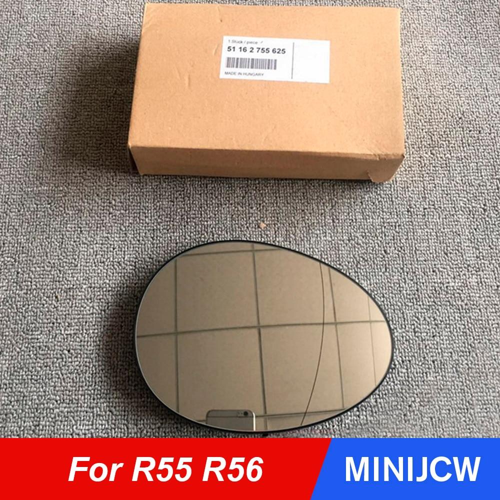 Auto Reflektor Tür Rückspiegel Rückfahr Fahren Spiegel Für MINI Cooper One S R55 R56 Auto Zubehör OE #51162755625