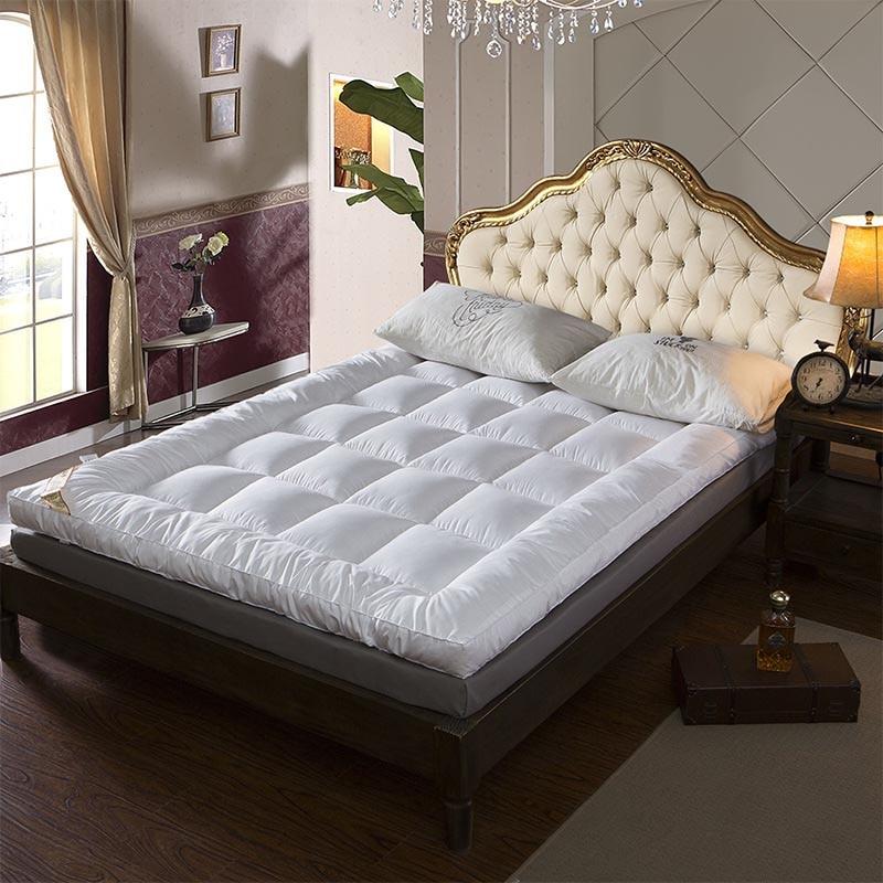Five Star Hotel Thicken Feather Velvet Mattress 10cm Thickened Foldable Tatami Floor Mattress/Bed Futon Nap King Queen Size