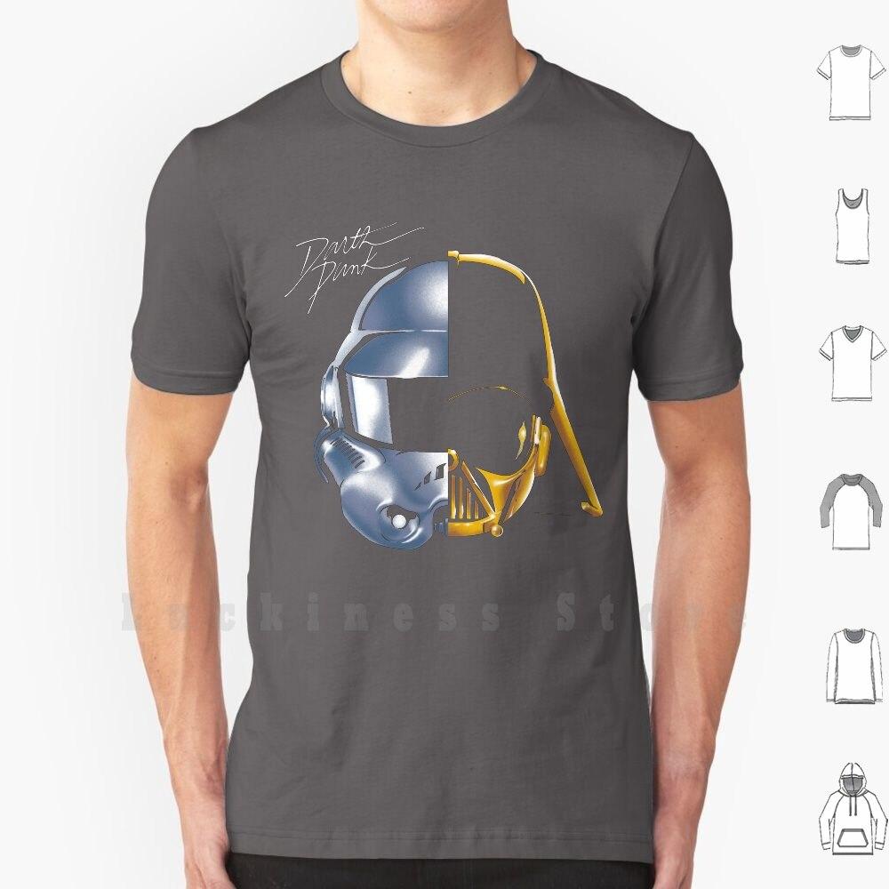 Star Helmet T Shirt DIY Cotton Big Size S-6xl Galaxy Space Stars Science Fiction Movie Movies Daft Music Get Lucky Punk