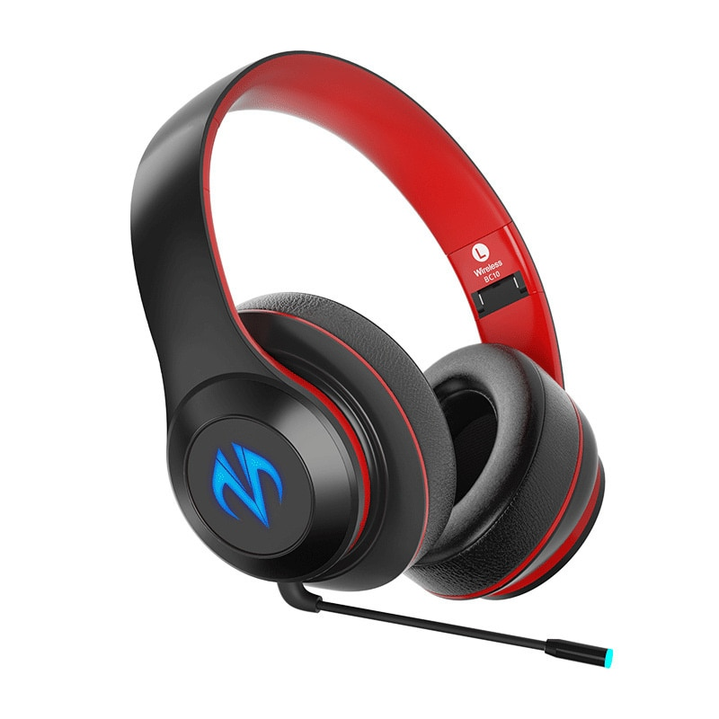 Factory sold wireless headset Bluetooth sports game headset 5.0 low delay music luminous headset enlarge
