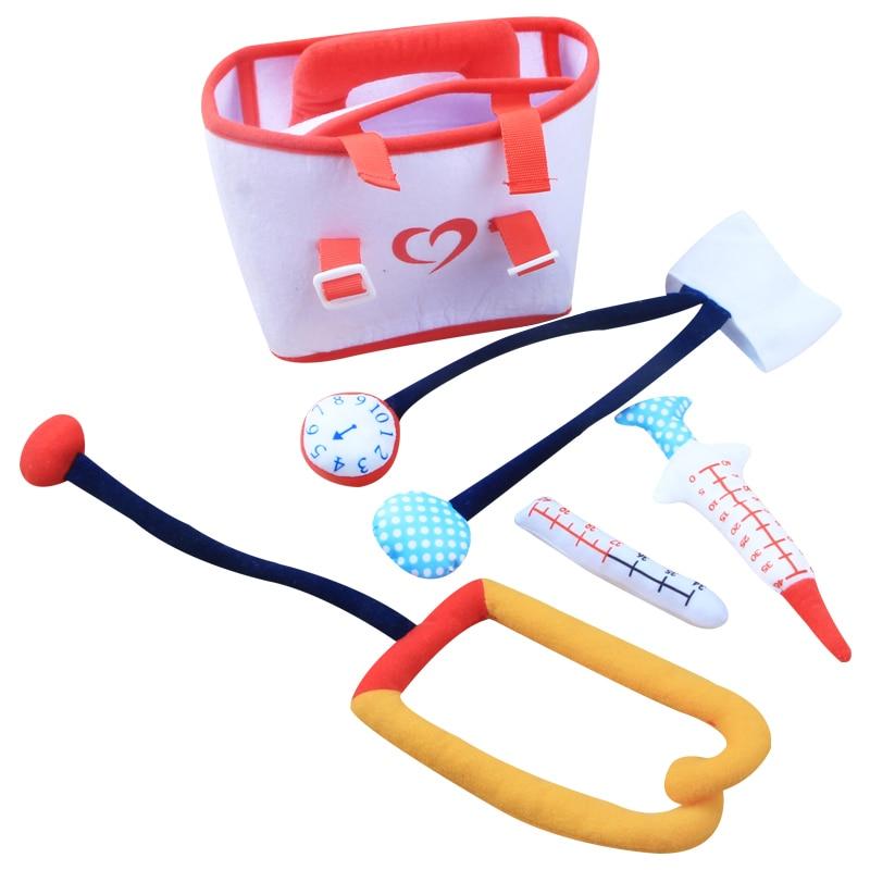 2019 nuevos juguetes para set de belleza femenina niños regalo princesa secador de pelo lápiz labial caja médica Cosplay juguetes de simulación juguetes médicos