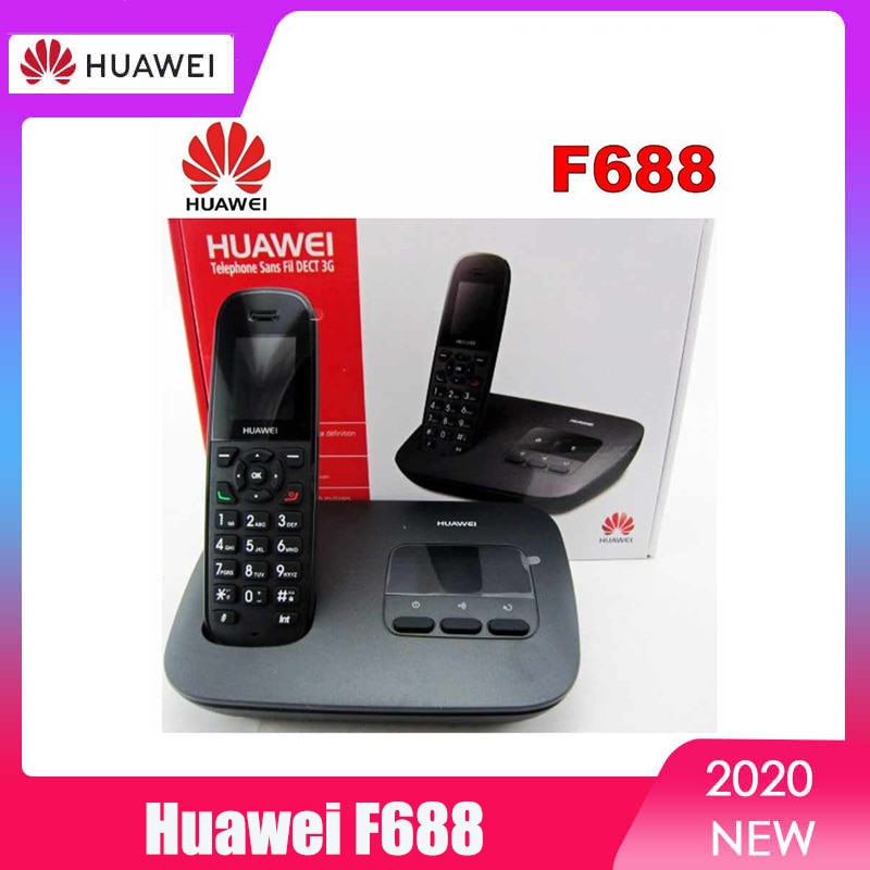 Original Huawei F688-20 UTMS/WCDMA 900/2100Mhz Fixed Wireless Terminal and DECT Phone