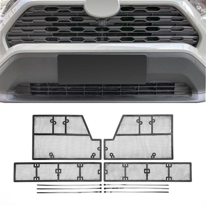 Para Toyota RAV4 RAV-4 XA50 2019 2020 rejilla de acero protección contra insectos rejilla frontal