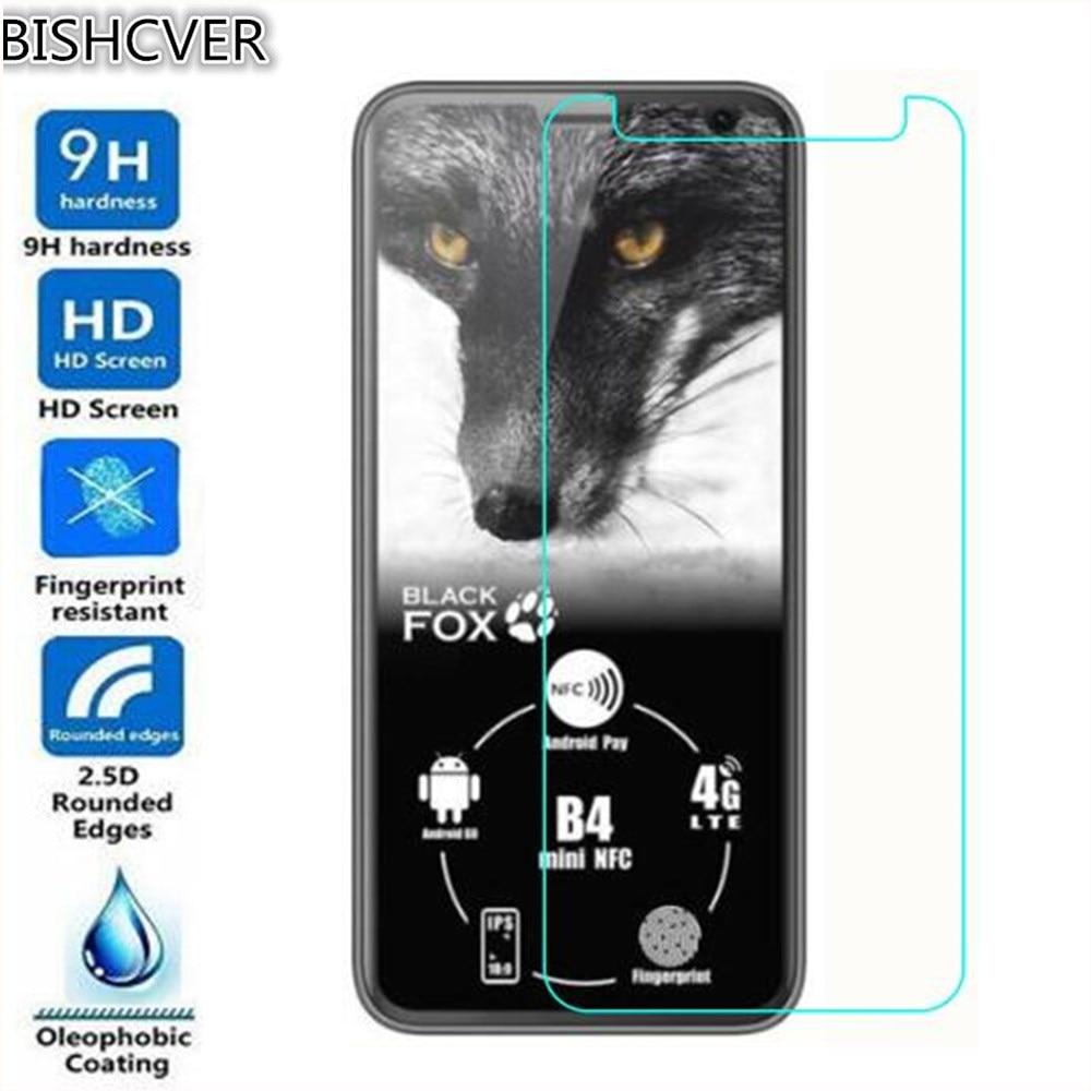 Vidrio templado para zorro negro B4 mini NFC vidrio Protector de pantalla 2.5D 9H vidrio templado Premium para zorro negro mini película de teléfono B4