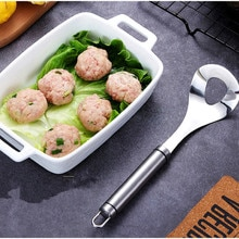 Utensilio para hacer albóndigas cuchara de acero inoxidable antiadherente creativo para hacer albóndigas utensilios de cocina y accesorios
