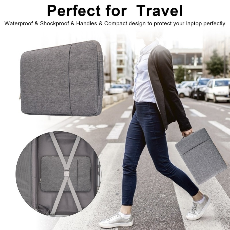 For MacBook 12And 11.6 Inch Laptop Sleeve Case Carry Bag Universal Laptop Bag For MacBook Samsung Chromebook HP Acer Lenovo