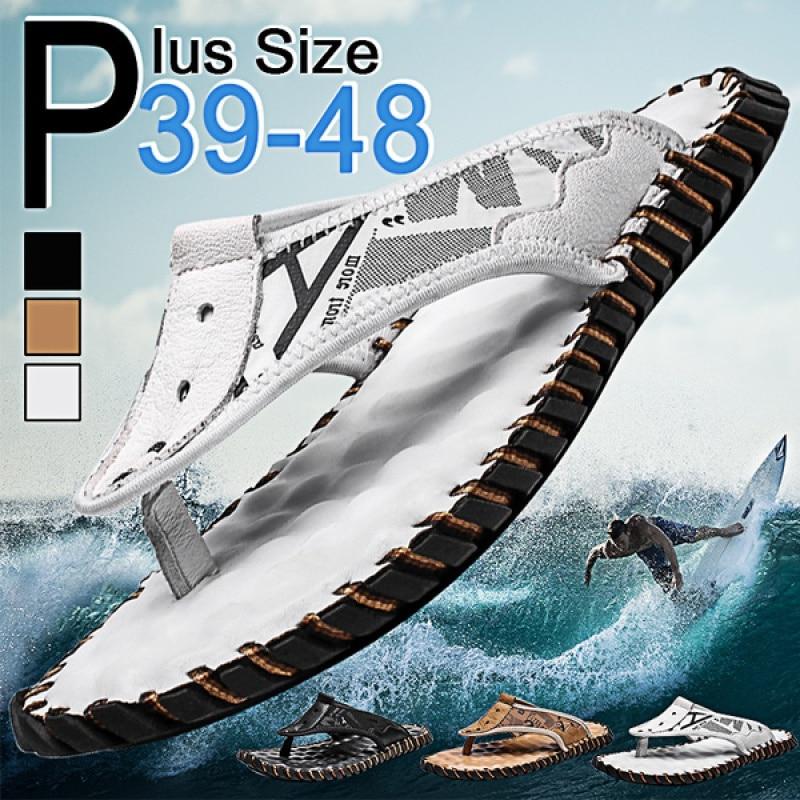 2021 New 3 Colors Flip Flops Men Summer Shoes Sandal Men Casual Slippers Beach Outdoor Slippers Non-