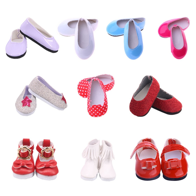 5 cm Length Fashion Casual Shoes For 14.5 Inch Wellie Wisher Doll Clothes Accessories Generation Rus