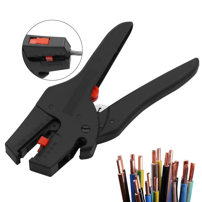 Self-Adjusting insulation Wire Stripper Wire Stripping Range 0.08-6mm Multi-tool Wire Cutter Cutting