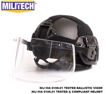 MILITECH BK MICH ACH ARC OCC циферблат лайнер NIJ level IIIA 3A Aramid пуленепробиваемый шлем с тактическим баллистическим козырьком комплект защиты
