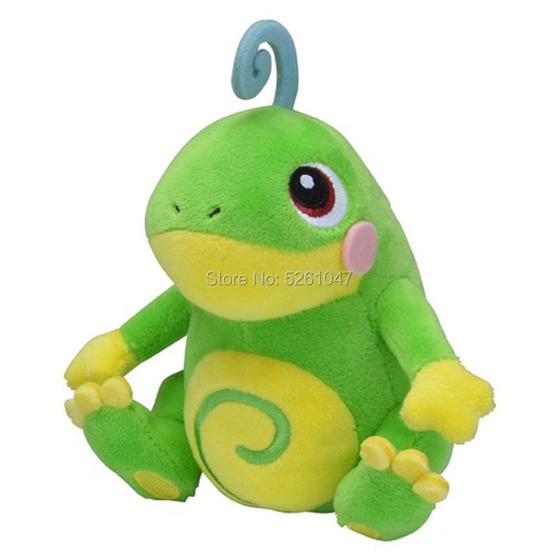 Juguete de bolsillo Original de Monster Fit, muñeco de peluche pulido, juguete de peluche, regalo para chico pequeño de 14cm