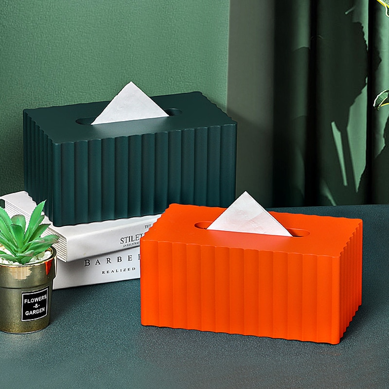 Tissue Boxes салфетница Paint decorative Nordic Style Creative Simple Light Luxury Household Black Tea Several Table Napkin Box
