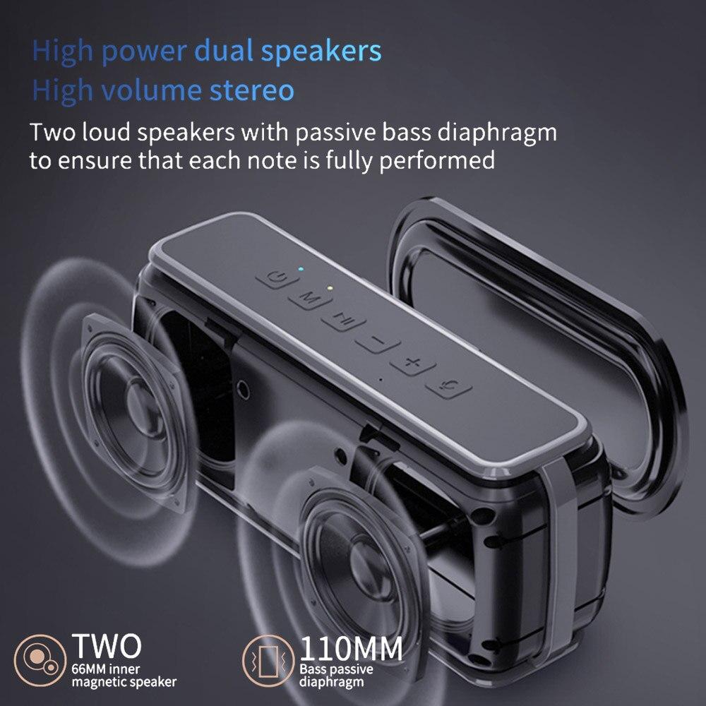 50W Wireless Waterproof Bluetooth Speakers Boombox Big Power Portable Column Bass Speaker Subwoofer Super Bass USB/TF Soundbar enlarge