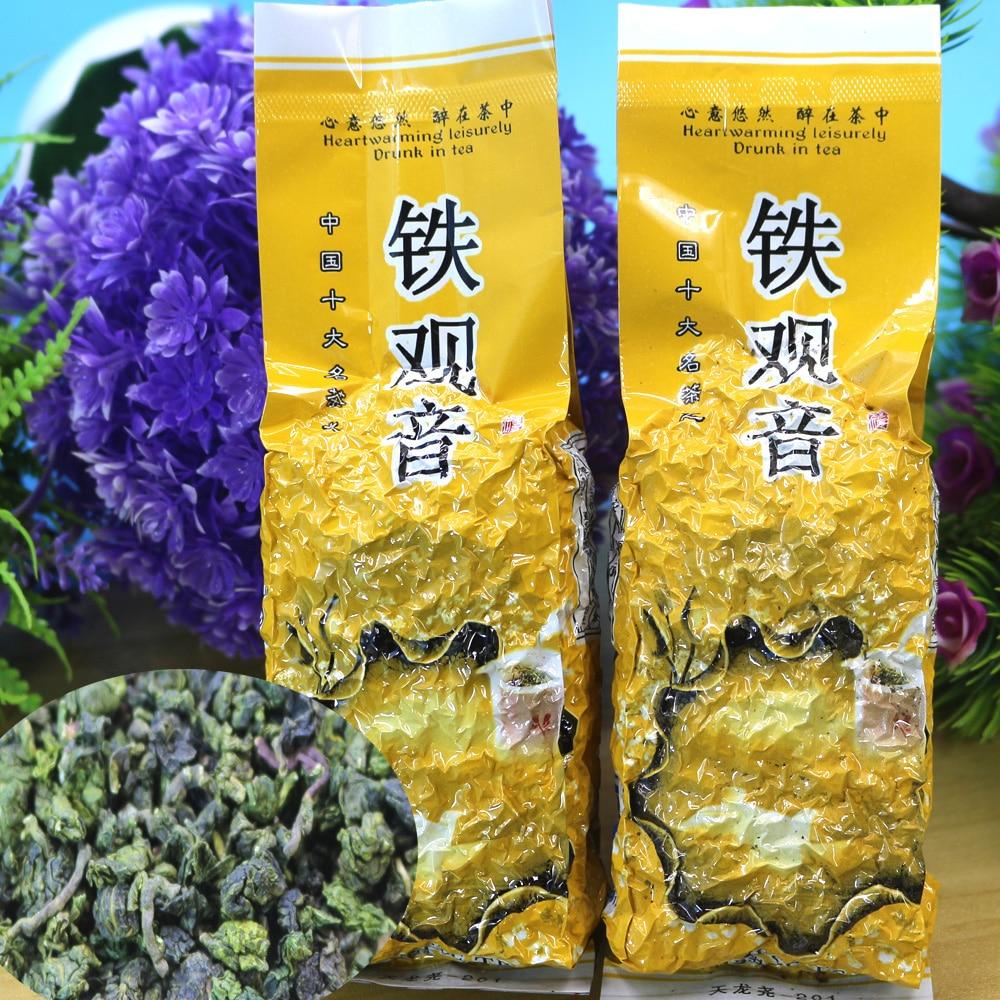 Té chino Oolong, Té Anxi TieKuanyin, té verde 1725 orgánico, comida verde para perder peso