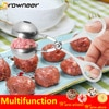 2 Size Multifunction Non Stick Meat Fish Rice Ball Maker Practical Stainless Steel Polish Poultry Clip Light Safe Kitchen Tool