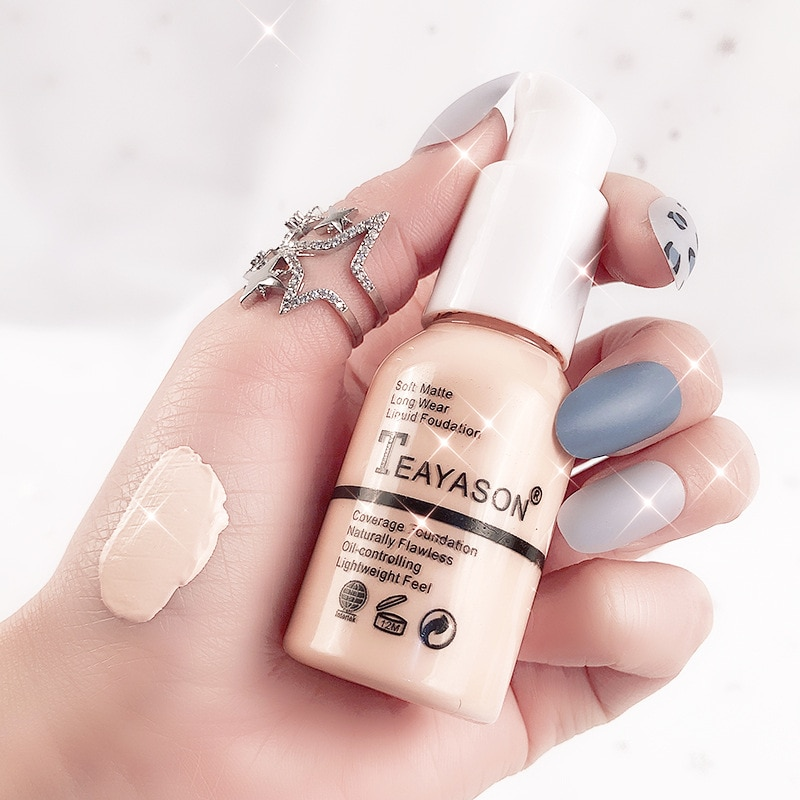 6 Colors BB Cream Waterproof Moisturizing Concealer Natural Whitening Foundation Long-Lasting Bright