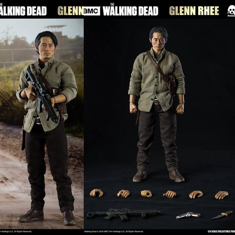 ThreeZero 3Z0038 1/6: The Walking Dead and The Walking Dead ، غلين Li Renji غلين متنقل ، 12 بوصة ، متوفر