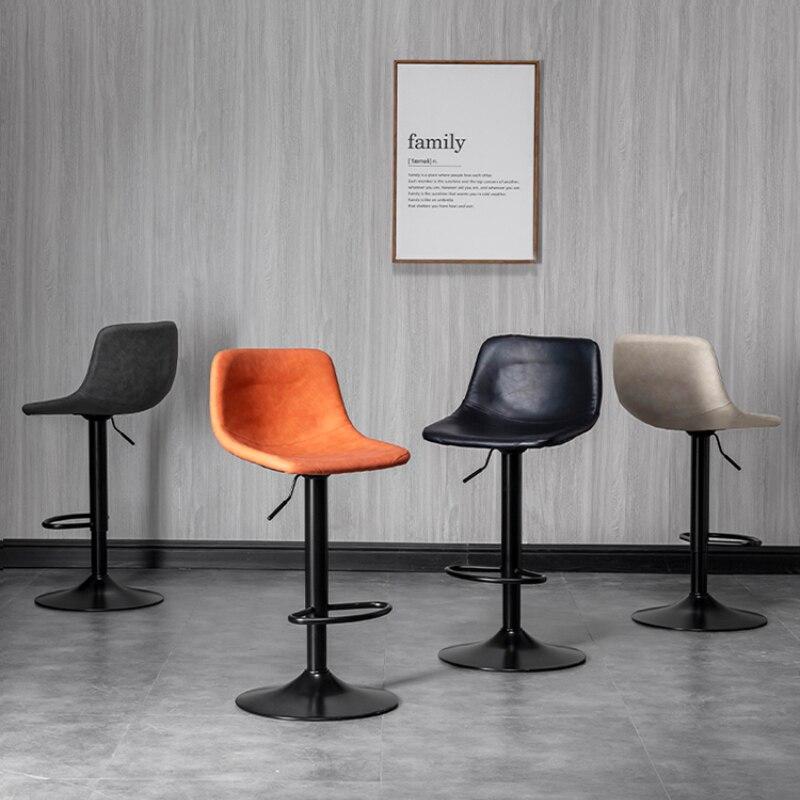 Фото - Современный простой барный стул, модные роскошные высокие стулья, регулируемый подъемный барный стул, обеденный стул, барная мебель BC50YZ барный стул лайф мебель барный стул marvin