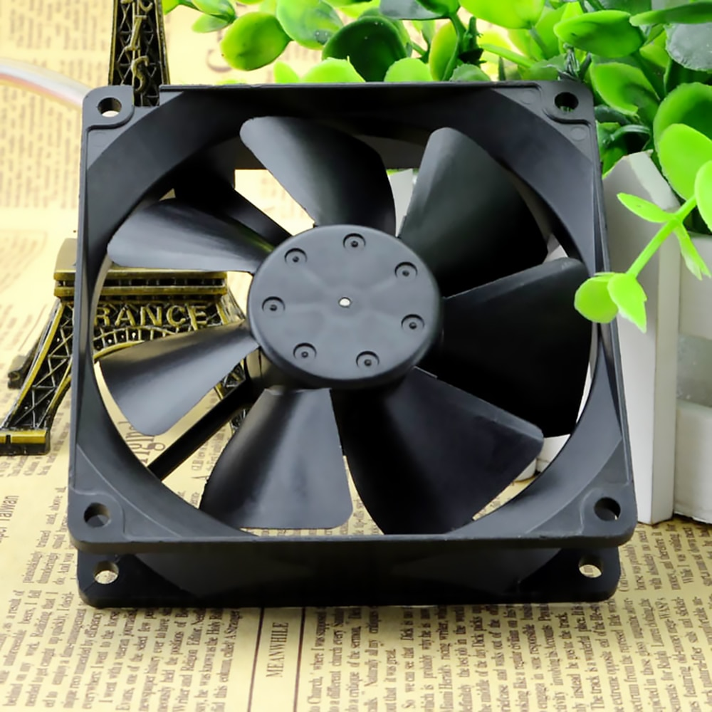 For NMB 3610KL-04W-B40 9225 9cm 12V 0.28A amount of wind power chassis axial cooling fan enlarge