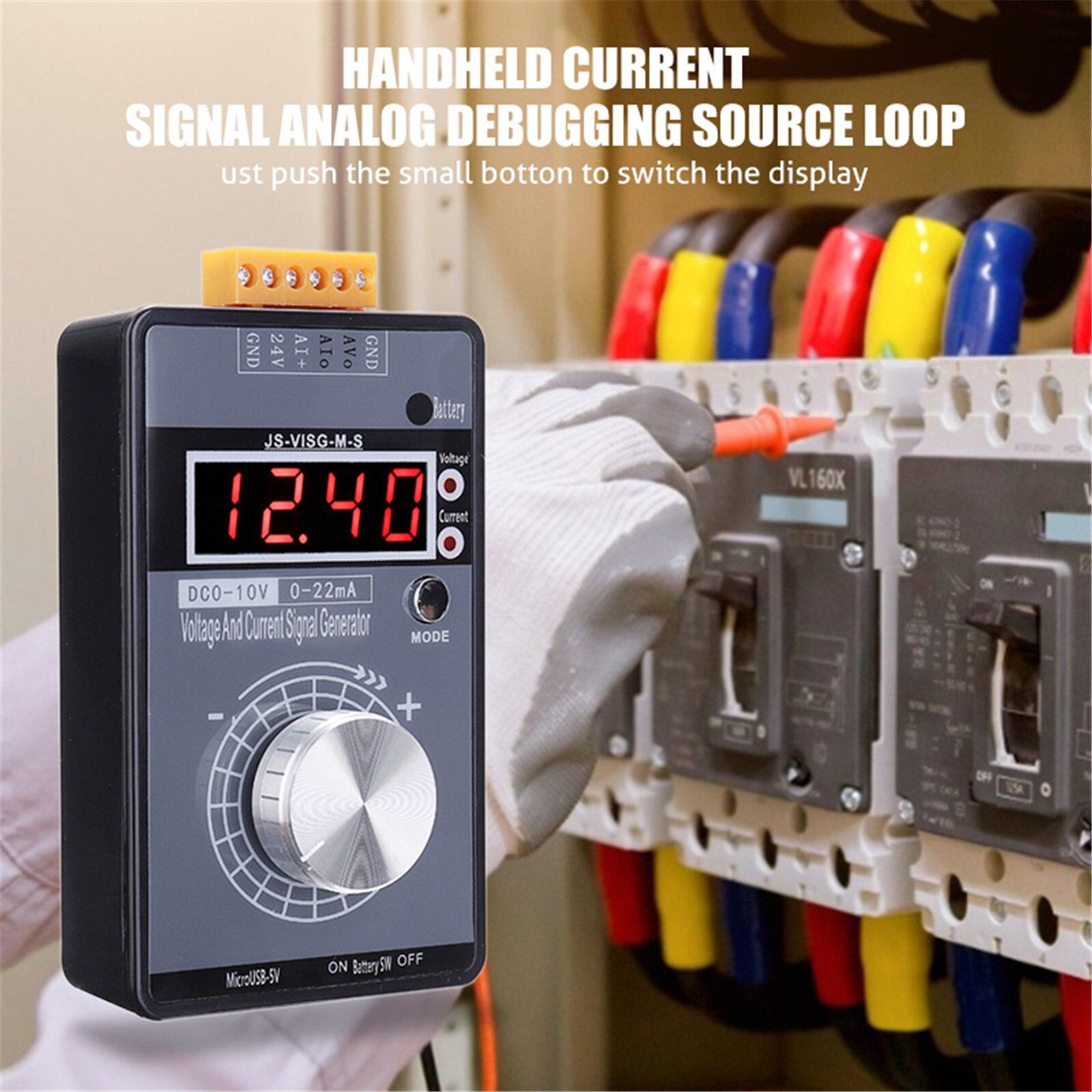 Цифровой преобразователь напряжения FURONGHUA, 4-20 мА, 0-10 В, 0-20 мА, профессиональные Электронные измерительные приборы