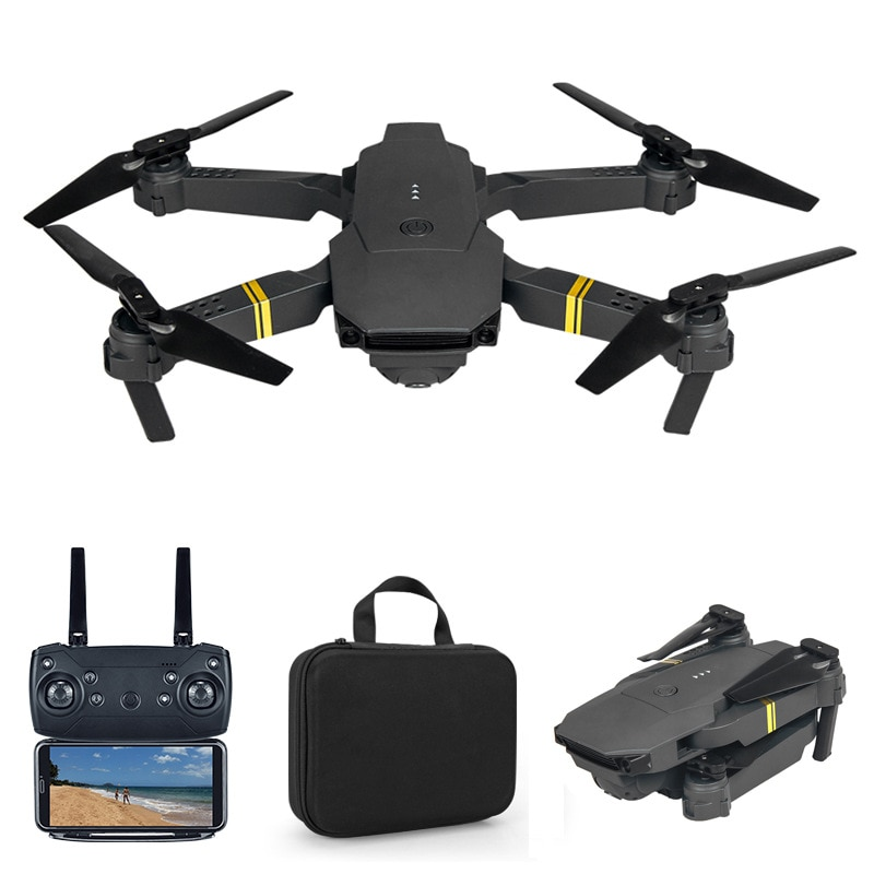 Drone E58 WIFI FPV With Wide Angle HD 4K/1080P/720P/480P Camera Hight Hold Mode Foldable Arm RC Quad