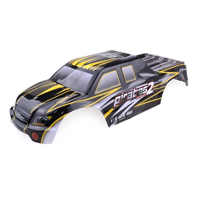 Para ZD Racing 9116 08427 1/8 2,4G 4WD coche Rc sin escobillas gris cuerpo de Color Shell repuestos