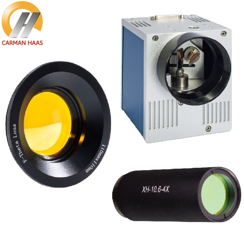 CO2 Galvanometer Scanner 10mm 12mm 14mm Galvo Head Set + CO2 Scan Lens + Beam Expander 2X 3X 4X for CO2 Marking Engraving