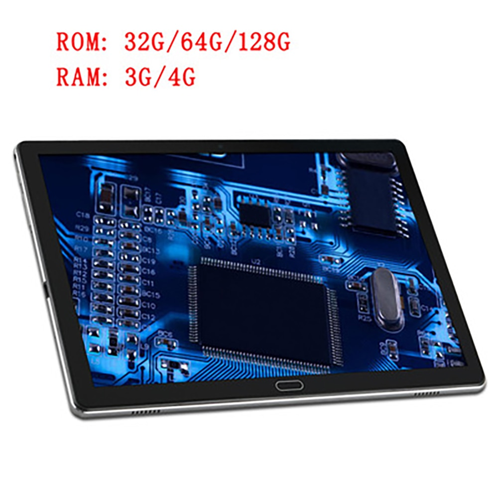 The New 10.8-Inch Tablet PC Ten-core 4G Call 3+32GB, 4+64GB,4+128GB5Gwifi with 2560x1600 HD Learning Screen TYPE-C charger