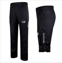 2020 Daiwa Anti-UV Quick-drying Fishing Pants High Quality Fisherman Outdoors Black Breathable Pants Plus Size Fishing Clothing