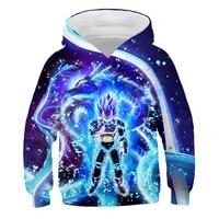 spring autumn winter new anime dragon ball sweatshirt kids hoodies clothes goku hoodie boygirls hoodies 4 14y child sweatshirt