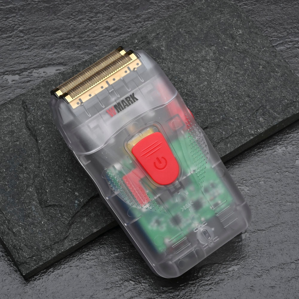 WMARK جديد NG-987 الحلاقة الحلاقة المشكل ماكينة حلاقة كهربائية اللحية USB الحلاقة الكهربائية ل رئيس النفط ماكينة حلاقة دفع الأبيض