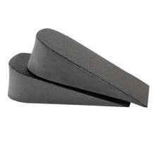 1 paio di Scarpe Solette Tacco Traspirante Mezza Soletta Heighten Inserto Scarpe Sportive Pad Cuscino di Aumento di Altezza Solette Donne Uomo