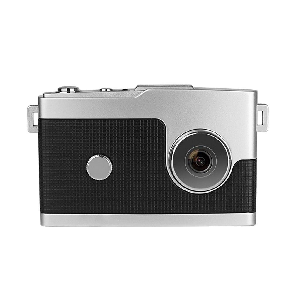 Маленькая детская мини-камера Hd 1080P, ретро Подарочная камера, 1,5-дюймовый Hd экран, камера Full HD (1920x1080), объектив Periscope 1,5 часа