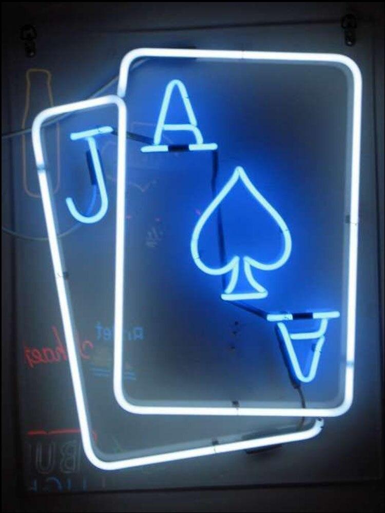 مصباح فلورسنت مزخرف ، أنابيب زجاجية حقيقية ، إضاءة زخرفية لغرفة الألعاب ، شاشة أركيد الفندق ، ضوء جذب الأعمال التجارية