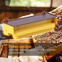 Plastic Bijenteelt Pollen Val Lange Levensduur Tuin Special Purpose Bee Hive Pollen Collector Lade Bijenteelt Gereedschappen