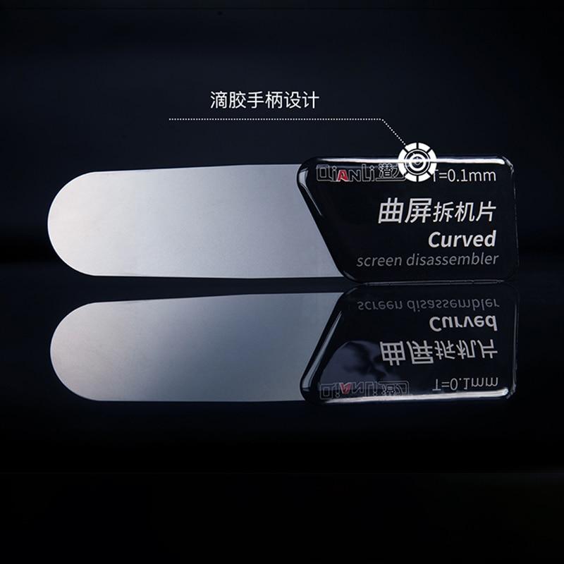 Купить с кэшбэком 5PCS QIANLI Surface Screen Mobile Phone Dismantling Film Dropping Handle  Design  Super Toughness