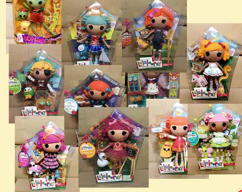 Nueva figura de sirena de Lalaloopsy Lala-Oopsies de 32cm, muñecas para niñas, niños, decoración de juguetes, regalos para niños