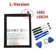 Nouveau 4000mAh BT61 batterie et outils de réparation remplacement pour Meizu l-version M3 Note M3Note L681H téléphone
