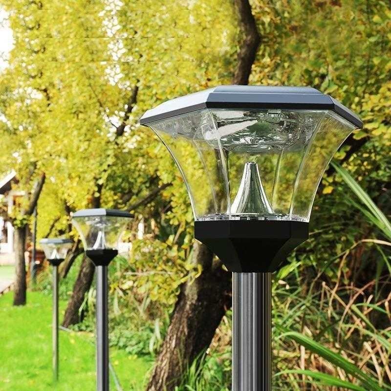 Ogrodowe Luce Para Exterior Lampara Meteor 2018 Lumiere Exterieur De Jardin Solar Tuinverlichting Light LED Garden Lawn Lamp enlarge