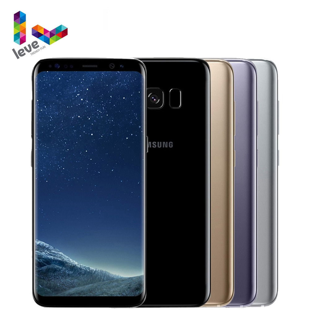 "Unlocked Samsung Galaxy S8 Plus S8+ Snapdragon 835 Mobile Phone 6.2"" 64GB ROM Octa Core Fingerprint 4G LTE Android Smartphone"