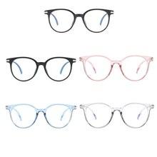 Blue Light Blocking Spectacles Women Men Fashion Anti Eyestrain Decorative Glasses Light Computer Ra