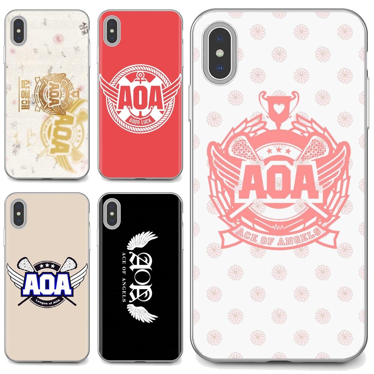 Asa ace of angels logotipo KPOP coreano para Huawei Honor Y5 2018 2019 8S 9X Pro 20 10 10i Lite colorido de la caja del teléfono de silicona